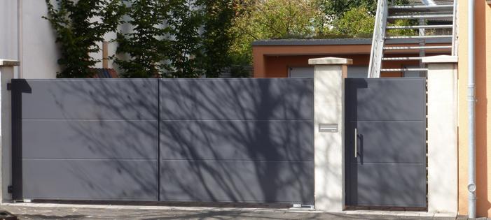 Galerie Zäune + Tore   Eggert - Metallbau - Versmold